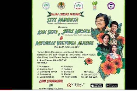 Live Streaming! Lestarikan Alam dengan Menanam 10.000 Mangrove bersama Ibu Menteri Siti Nurbaya(1)