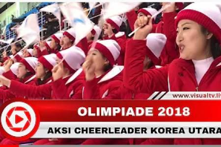 Unik! Aksi Cheerleader Korea Utara Curi Perhatian di Ajang Olimpiade 2018