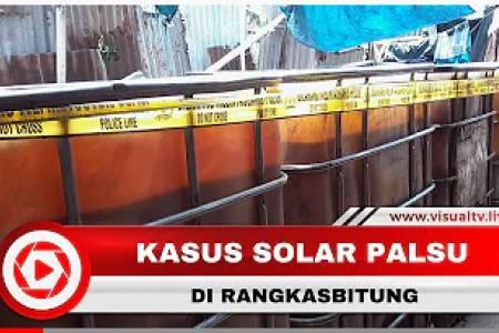 Produksi Solar Palsu Hasilkan 400.000 Liter dalam Satu Bulan