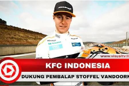 KFC Indonesia Support Stoffel Vandoorne