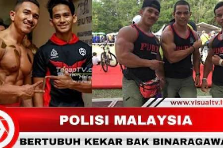 Miliki Otot Kekar, Polisi Malaysia Ini Bikin Gagal Fokus Warganet