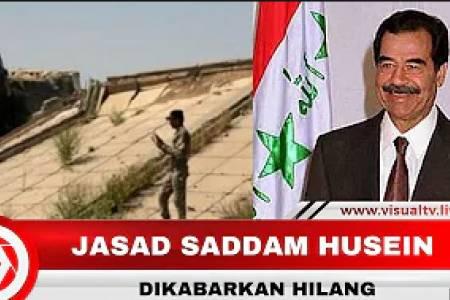 12 Tahun Dikubur, Jasad Saddam Hussein Hilang?