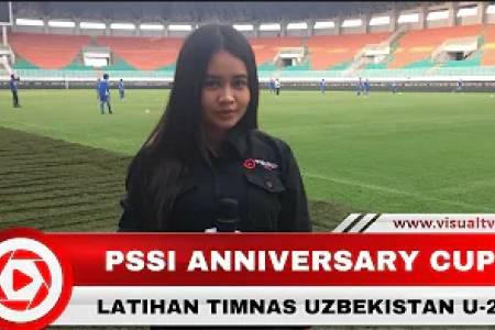 Latihan Tim Nasional U-23 Uzbekistan, Jelang PSSI Anniversary Cup 2018