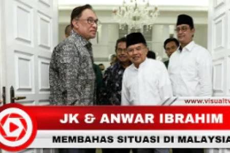 Pertemuan Jusuf Kalla dan Mantan Perdana Menteri Malaysia, Anwar Ibrahim